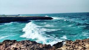 The water looks amazing in Aruba!