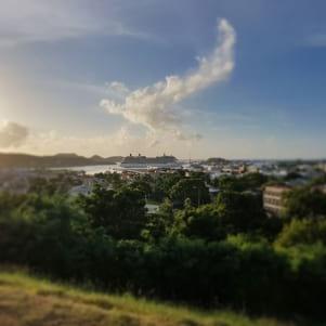 Amazing cloud photo in Barbuda.