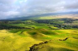 A big valley on the island of Hawaii