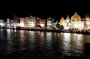 A beautiful evening in Curacao