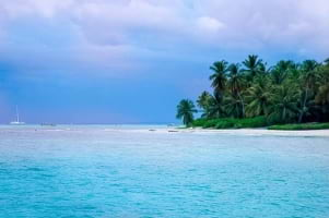 Another beautiful day on Saona Island Dominican Republic