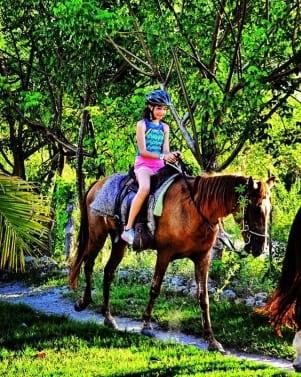 Horseback riding in Dominican Republic