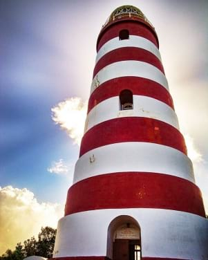 The Ultimate Lighthouse on the amazing Elbow Cay Bahamas