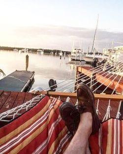Kickin back in Islamorada, Florida Keys