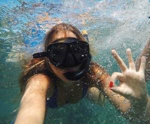 Snorkeling! in Kauai!