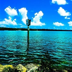 Amazing water in Key Largo.