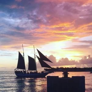 Gorgeous sunset in Keywest