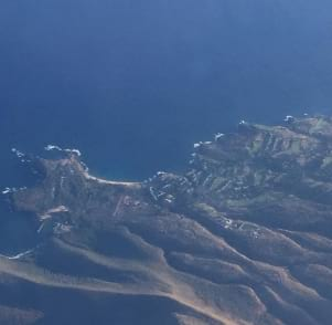 Lanai from the sky....Beautiful!