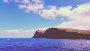 The amazing cliffs of Lanai hawaii