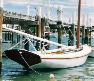 Classic Abaco Sailing Dinghy n Man O War.