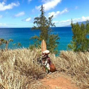 A tribute to the surf gods on Maui Hawaii