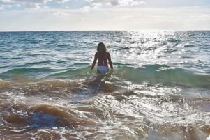 Missing the waters of Maui.
