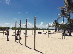 A perfect day at Miami Beach