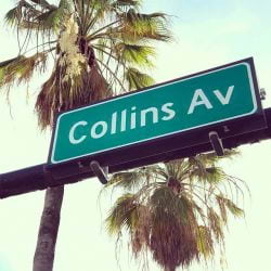 Collins Avenue Sign