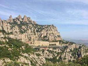 Breathtaking view in Montserrat
