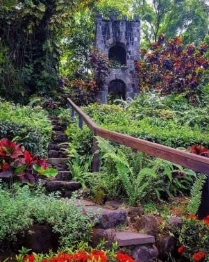 A secret garden in Nevis