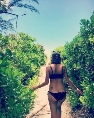 The path to paradise on Sanibel Island Florida