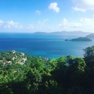 Beautiful island of St. John
