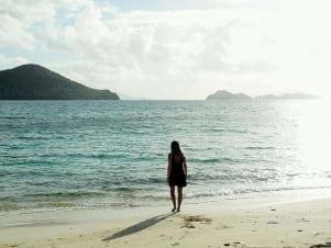 Peaceful scene in Virgin islands