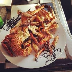 Delicious seafood!